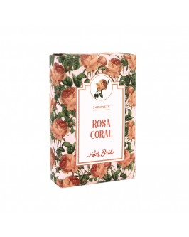 Мило туалетне Ach. Brito Coral Rose Soap 75 г