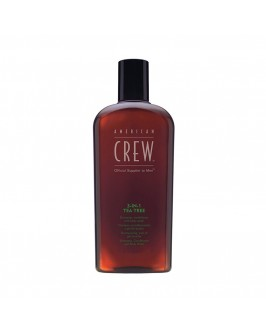 Шампунь (3 в 1) American Crew Shampoo, Conditioner and Body Wash Tea Tree 1000 мл