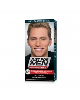 Оттеночный шампунь Just for Men Coloring Shampoo Light Brown H-25