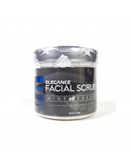 Скраб Для Лица Elegance Facial Scrub Mint Fresh 500 мл