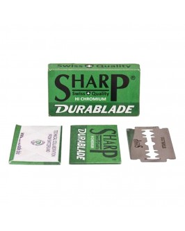 Лезвие Sharp Hi Chromium Double Edge 10 шт