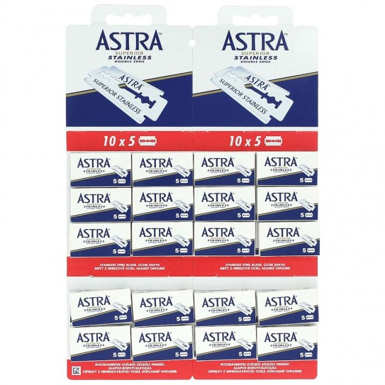 Лезвия Astra Superior Stainless 100 шт