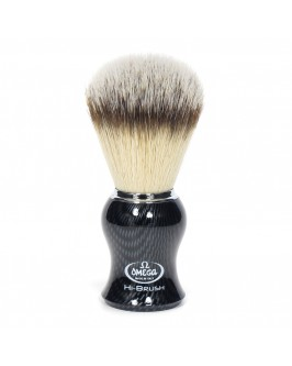 Помазок Для Бритья Omega Hi-Brush 0146650 Carbon Effect Синтетика