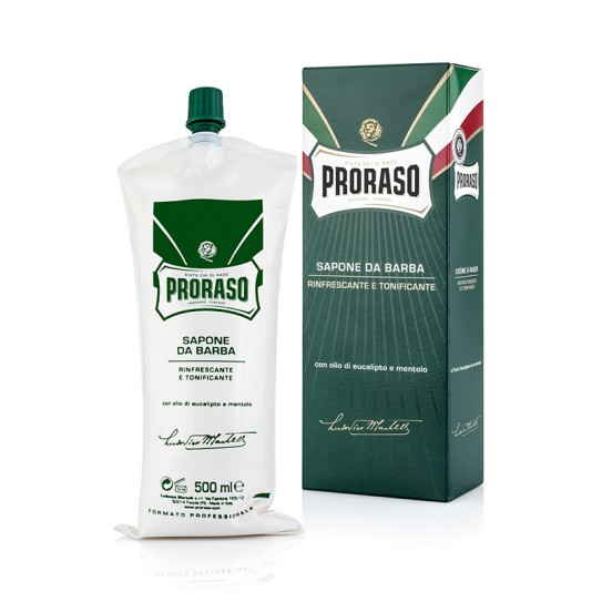 Крем Для Бритья Proraso Green Shaving Cream Tube Refresh Eucalyptus 500 мл
