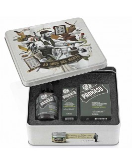 Набор Для Бороды Proraso Metal Box Beard Care Cypress & Vetyver Gift Set