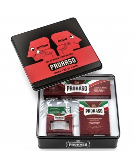 Набор Для Бритья Proraso Red Vintage Selection Prima & Dopo Gift Set
