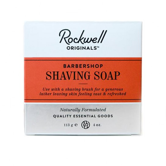 Мыло Для Бритья Rockwell Shaving Soap Barbershop Scent 113 Г