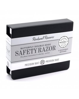 Станок Для Бритья Rockwell Model-T White Chrome Adjustable Double Edge Safety Razor