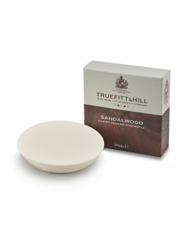 Мыло Для Бритья Truefitt & Hill Sandalwood Luxury Shaving Soap (Запаска) 99 Г