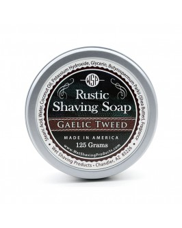 Мыло Для Бритья Wsp Rustic Shaving Soap Gaelic Tweed 125 г