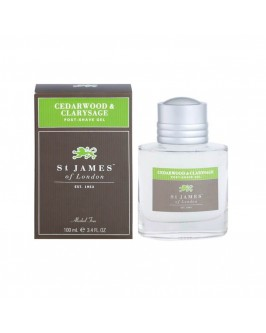 Гель после бритья St. James of London Cedarwood & Clarysage 100 мл