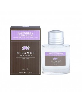 Гель после бритья St. James of London Lavender & Geranium 100 мл