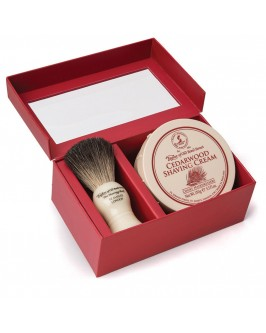Подарунковий набір для гоління Taylor of Old Bond Street Shaving Brush & Cedarwood Shaving Cream 150 гр