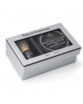 Подарочный набор для бритья Taylor of Old Bond Street Shaving Brush & Jermyn Street Collection Shaving Cream 150 гр