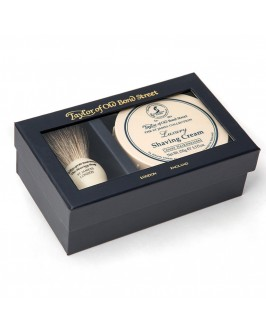 Подарочный набор для бритья Taylor of Old Bond Street Shaving Brush & Mr Taylor's Shaving Cream 150 гр
