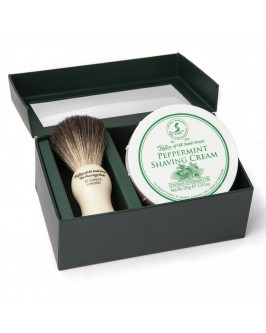 Подарунковий набір для гоління Taylor of Old Bond Street Shaving Brush & Pepermint Shaving Cream 150 гр