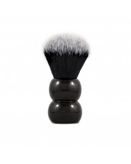 Помазок для бритья RazoRock Tuxedo Plissoft Snowman Synthetic Brush 24 mm knot