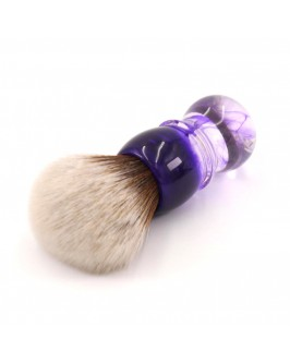 Помазок для бритья Yaqi Brush Purple Haze Handle R1738-S