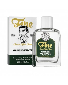 Лосьон после бритья Fine Classic After Shave - Green Vetiver 100 мл