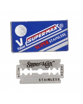 Лезвия Super-Max Superstainless DE Razor Blades 10 шт