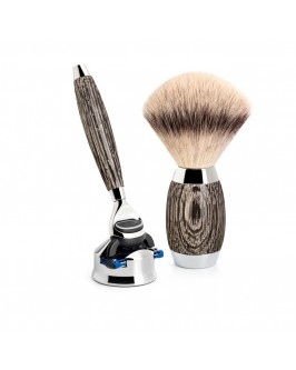 Набор для бритья Muhle Edition No.3 Bog Oak and Sterling Silver S 433 ED 3