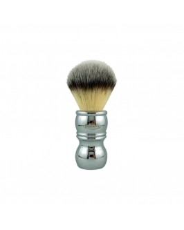 Помазок для гоління RazoRock Chrome Silvertip Plissoft Synthetic Shaving Brush