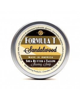 Мыло Для Бритья Wsp Formula T Shaving Soap Sandalwood 125 г
