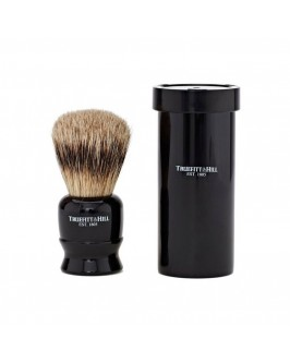 Помазок Для Бритья Truefitt & Hill Tube Traveller Ebony Super Badger Brush