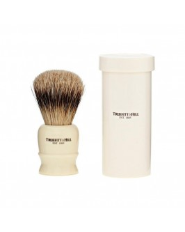 Помазок Для Бритья Truefitt & Hill Tube Traveller Ivory Super Badger Brush
