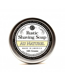 Мыло Для Бритья Wsp Rustic Shaving Soap Au Naturel 125 Г